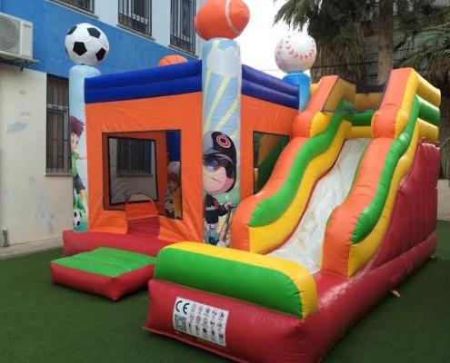 השכרת מתנפחים כדורגל לילדים