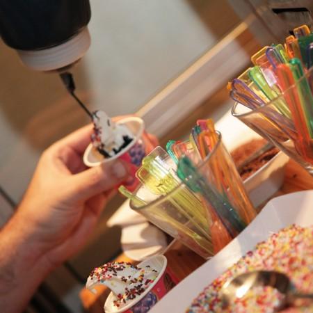 דוכני מזון -דוכן גלידה אמריקאית