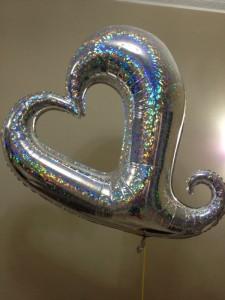 בלון לב יום הולדת